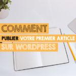 comment publier article wordpress