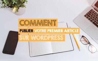 Comment publier votre premier article sur WordPress